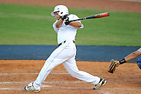 5 May 2012:  FIU infielder/outfielder David Vazquez (4) bats as the FIU Golden Panthers defeated the Middle Tennessee State University Blue Raiders, 12-6, at University Park Stadium in Miami, Florida.
