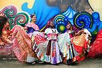 Polleras conga / Festival de Congos y Diablos / Portobelo, Panamá.<br /> <br /> Edición de 10 | Víctor Santamaría.