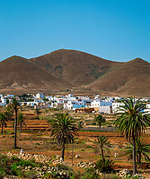 Spanien, Kanarische Inseln, Fuerteventura, Tuineje: Ort im Innern der Insel   Spain, Canary Island, Fuerteventura, Tuineje: village