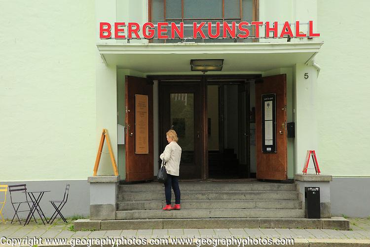 Bergen Kunsthall art gallery museum, Bergen, Norway