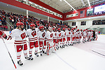 2013-14 NCAA Women's Hockey: Harvard at Wisconsin