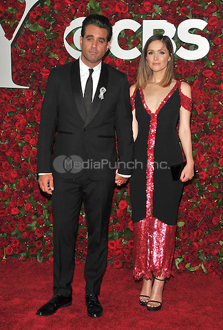 NEW YORK, NY - JUNE 12: Bobby Cannavale, Rose Byrne at the 70th Annual Tony Awards at The Beacon Theatre on June 12, 2016 in New York City. Credit: John Palmer/MediaPunch