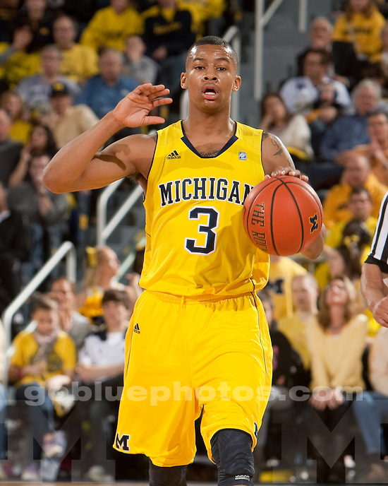 University of Michigan men's basketball team beat Wisconsin 59-41 at Crisler Arena in Ann Arbor, Mich., on January 8, 20112.