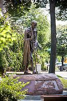 Washington DC Ghandi Statue Massachusetts Ave