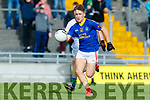 Matthew Flaherty Dingle in action against Darragh Moynihan East Kerry in the Semi Final of the Kerry Senior Football Championship between Dingle and East Kerry at Austin Stack Park on Sunday.