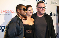 LOS ANGELES, CA - NOVEMBER 13: Usher, Kaily Smith Westbrook and Tom Arnold at People You May Know at The Pacific Theatre at The Grove in Los Angeles, California on November 13, 2017. Credit: Robin Lori/MediaPunch