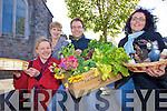 FAIR: Getting ready for the annual Listowel Food Fair which takes place in November, l-r: Jurgo Montvydiene, Aoife Hannon (Food Fair Committee), Geoffrey Griffin, Michelle Reynolds.