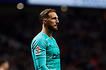 Jan Oblak of Atletico de Madrid during the La Liga match between Atletico de Madrid and Athletic Club de Bilbao at Wanda Metropolitano Stadium in Madrid, Spain. October 26, 2019. (ALTERPHOTOS/A. Perez Meca)