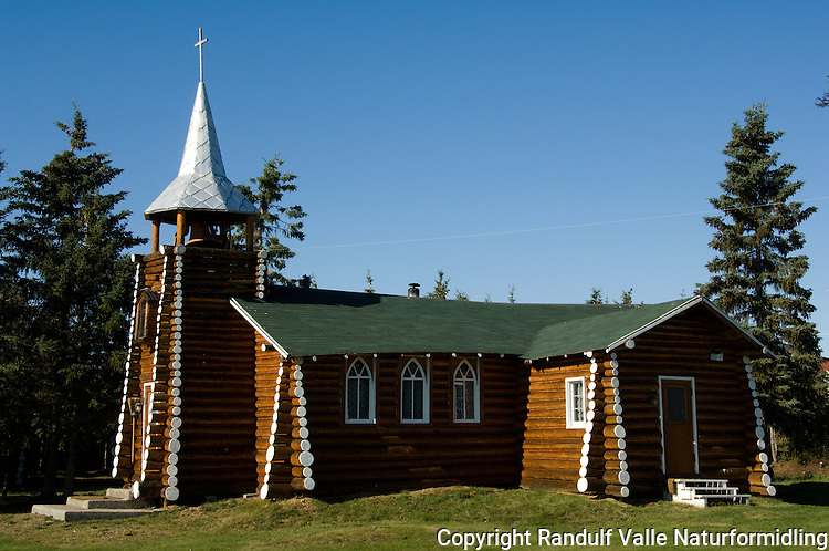 Our Lady of the Snows Church, Colville Lake, Canada.