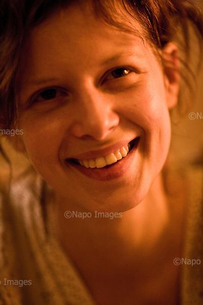 Warsaw 15 January 2010 Poland.<br /> Karolina Gruszka actress<br /> (Photo by Filip Cwik / Napo Images).<br /> <br /> Warszawa 15 styczen 2010 Polska.<br /> Karolina Gruszka aktorka.<br /> (fot. Filip Cwik / Napo Images)