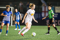 Allston, MA - Wednesday Sept. 07, 2016: Samantha Mewis during a regular season National Women's Soccer League (NWSL) match between the Boston Breakers and the Western New York Flash at Jordan Field.