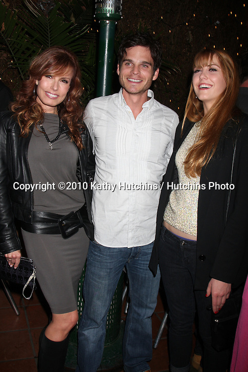 Tracey Bregman, Greg Rikaart, & Yvonne Zima.at the Eric Braeden's 30th Anniversary on The Young & The Restless Cocktail Reception .Pane e Vino Resturant.Los Angeles, CA.February 3, 2010.©2010 Kathy Hutchins / Hutchins Photo..Publicist & Braeden Approved....