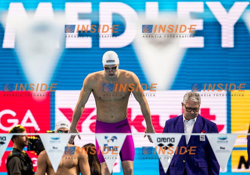 POPKOV Aleksandr RUS Gold Medal<br /> Men's 4x50m Medley Relay<br /> 13th Fina World Swimming Championships 25m <br /> Windsor  Dec. 10th, 2016 - Day05 Final<br /> WFCU Centre - Windsor Ontario Canada CAN <br /> 20161210 WFCU Centre - Windsor Ontario Canada CAN <br /> Photo &copy; Giorgio Scala/Deepbluemedia/Insidefoto