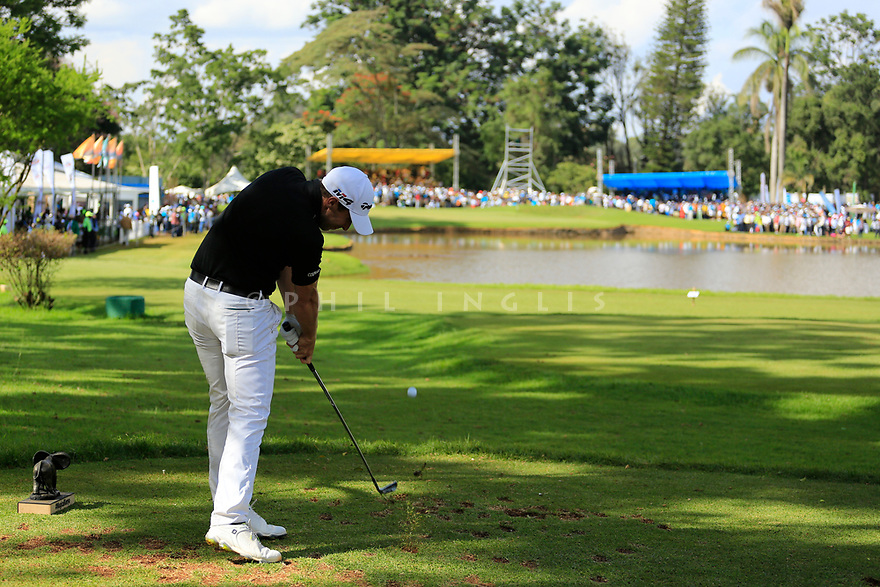 Lorenzo Gagli (ITA) during the final round of the Barclays Kenya Open played at Muthaiga Golf Club, Nairobi, Kenya 22nd - 25th March 2018 (Picture Credit / Phil Inglis) 22/03/2018<br /> <br /> <br /> All photo usage must carry mandatory copyright credit (&copy; Golffile   Phil Inglis)