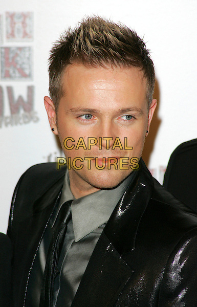 NICKY BYRNE.The South Bank Show Awards, The Dorchester Hotel, London, England..January 29th, 2008.headshot portrait.CAP/ROS.©Steve Ross/Capital Pictures