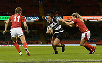 Ariana Hira of Barbarians looks for a way through<br /> <br /> Photographer Ian Cook/CameraSport<br /> <br /> 2019 Autumn Internationals - Wales Women v Barbarians Women - Saturday 30th November 2019 - Principality Stadium - Cardifff<br /> <br /> World Copyright © 2019 CameraSport. All rights reserved. 43 Linden Ave. Countesthorpe. Leicester. England. LE8 5PG - Tel: +44 (0) 116 277 4147 - admin@camerasport.com - www.camerasport.com