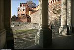 Azeglio (To). Paese che fa parte degli intinerari dei luoghi del Risorgimento. Nella foto Castello-palazzo di Azeglio.