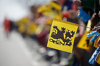 flemish lion flag<br /> <br /> 99th Ronde van Vlaanderen 2015
