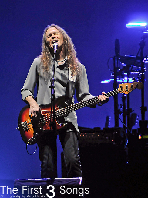 TIMOTHY B. SCHMIT of the Eagles performs live at the KFC Yum! Center in Louisville, Kentucky on October 16, 2010.