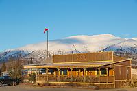 Coldfoot truck stop, Arctic, Alaska.