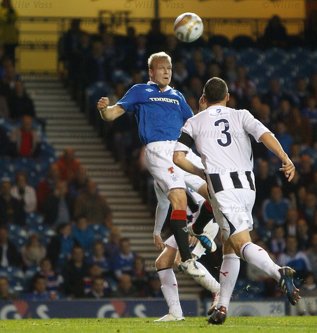 Steven Naismith rises to head in goal no seven