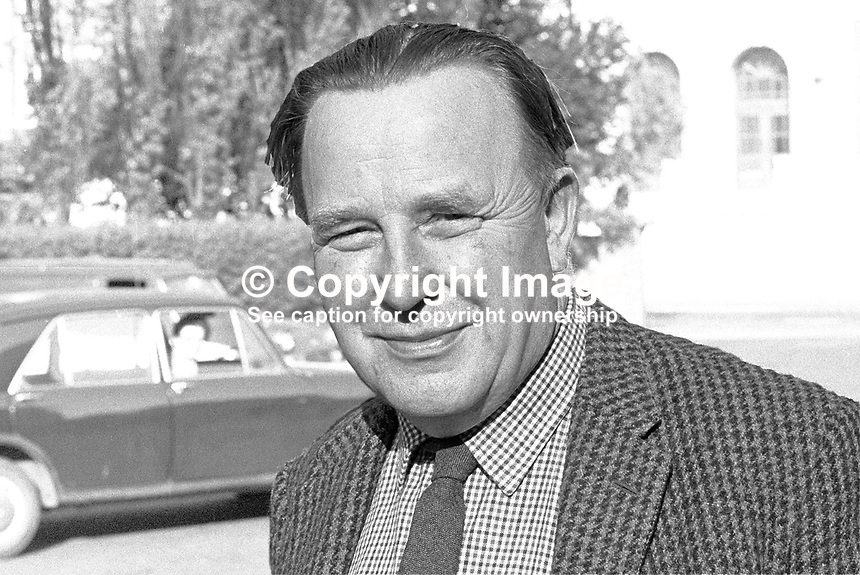 Rev Albert McElroy, president, Ulster Liberal Association, N Ireland, UK. 197006000226.<br />