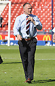 30/05/2009  Copyright  Pic : James Stewart.sct_jspa_25_rangers_v_falkirk.FALKIRK MANAGER JOHN HUGHES IS DEJECTED AT THE END OF THE GAME.James Stewart Photography 19 Carronlea Drive, Falkirk. FK2 8DN      Vat Reg No. 607 6932 25.Telephone      : +44 (0)1324 570291 .Mobile              : +44 (0)7721 416997.E-mail  :  jim@jspa.co.uk.If you require further information then contact Jim Stewart on any of the numbers above.........