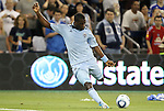 09 June 2011: Kansas City's C.J. Sapong. Sporting Kansas City played the Chicago Fire to a 0-0 tie in the inaugural game at LIVESTRONG Sporting Park in Kansas City, Kansas in a 2011 regular season Major League Soccer game.