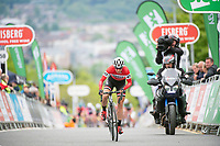 Picture by Allan McKenzie/SWpix.com - 15/05/2018 - Cycling - OVO Energy Tour Series Womens Race - Round 2:Motherwell - Nicola Juniper.