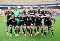 Washington, D.C.- March 29, 2014. D.C. United Team Photo. The Chicago Fire tied D.C. United 2-2 during a Major League Soccer Match for the 2014 season at RFK Stadium.
