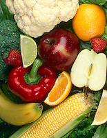 BASIC FOOD GROUP - FRUITS &amp; VEGETABLES<br />