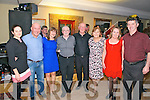 Mille Moynihan, Margaret Conway, Michael Daly, Geraldine McKenna, E. Eagan, Cait Geraghty, Brendan Whelan and Mary Stack enjoying the Set Dancing Ceili in Darby O'Gills in Killarney last Friday night.