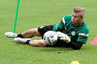 MARIENHOF - Voetbal, Trainingskamp FC Groningen , seizoen 2017-2018, 13-07-2017, FC Groningen doelman Segio Padt