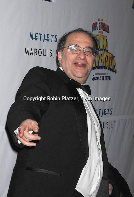 "Bob Weinstein..arriving at The Broadway Opening Night of The New Mel Brooks Musical ""Young Frankenstein"" on November 8, 2007 at The Hilton Theatre in New York. ..Robin Platzer, Twin Images....212-935-0770"