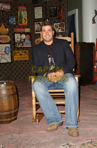 JOSH GRACIN.Songs of the Year Taping Presented by Cracker Barrel held at Schermerhorn Symphony Center, Nashville, Tennessee, USA, 05 November 2006..full length sitting in chair.Ref: ADM/GS.www.capitalpictures.com.sales@capitalpictures.com.©George Shepherd/AdMedia/Capital Picture.