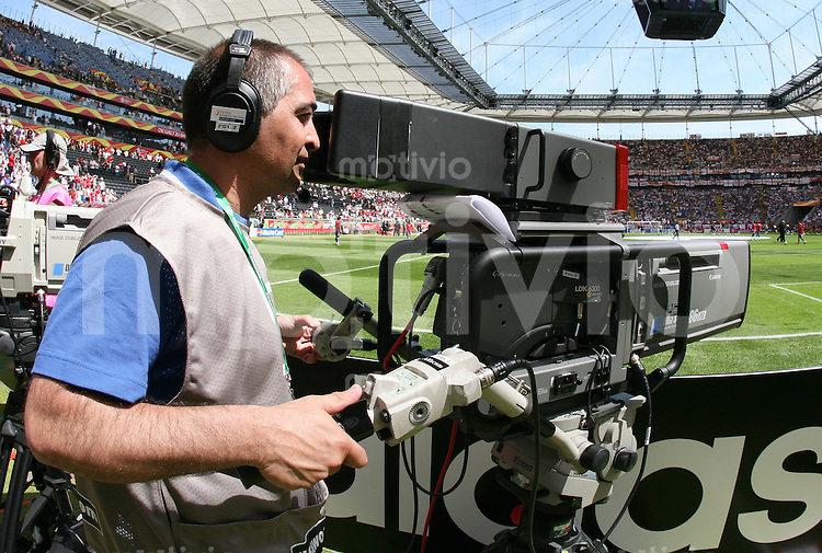 FussballInternational WM 2006 Vorrunde England-Paraquay TV-Kamera