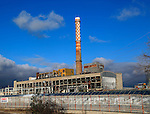 EVN coal fired power station in city of Plovdiv, Bulgaria,