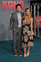 Thomas Middleditch &amp; Mollie Gates at the premiere for &quot;Kong: Skull Island&quot; at Dolby Theatre, Los Angeles, USA 08 March  2017<br /> Picture: Paul Smith/Featureflash/SilverHub 0208 004 5359 sales@silverhubmedia.com