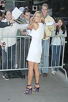 June 26, 2012 Denise Richards at Good Morning America  in New York City to discuss her new movie Madea's Witness Protection and her guest role on Charlie  Sheen's Anger Management on FX. © RW/MediaPunch Inc. *NORTEPHOTO*<br /> **SOLO*VENTA*EN*MEXICO** **CREDITO*OBLIGATORIO** *No*Venta*A*Terceros* *No*Sale*So*third* *** No Se Permite Hacer Archivo** *No*Sale*So*third*©Imagenes con derechos de autor,©todos reservados. El uso de las imagenes está sujeta de pago a nortephoto.com El uso no autorizado de esta imagen en cualquier materia está sujeta a una pena de tasa de 2 veces a la normal. Para más información: nortephoto@gmail.com* nortephoto.com.
