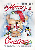 Theresa, CHRISTMAS ANIMALS, paintings(GBTG233,#XA#)