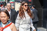 NEW YORK, EUA, 22.06.2017 - MARISA-TOMEI - A atriz Marisa Tomei é vista chegando a um programa de televisão em New York na manhã desta quinta-feira, 22. (Foto: Vanessa Carvalho/Brazil Photo Press)