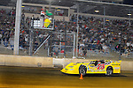 Sep 12, 2009; 11:00:26 PM; Rossburg, OH., USA; The 39th annual running of the World 100 Dirt Late Models racing for the Globe trophy at the Eldora Speedway.  Mandatory Credit: (thesportswire.net)