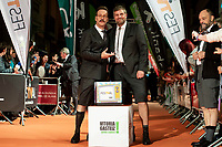 Joaquin Reyes and Raul Cimas attends to orange carpet of new comedian schedule of #0 during FestVal in Vitoria, Spain. September 06, 2018. (ALTERPHOTOS/Borja B.Hojas) /NortePhoto.com NORTEPHOTOMEXICO