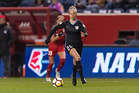 Bridgeview, IL - Saturday March 31, 2018: Erin Yenney during a regular season National Women's Soccer League (NWSL) match between the Chicago Red Stars and the Portland Thorns FC at Toyota Park.