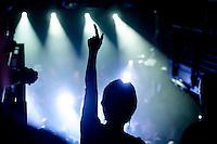 """Filmpremiere von """"Der Tag wird kommen"""".<br /> Anlaesslich der Premiere des Films """"Der Tag wird kommen"""" zum gleichnamigen Lied von Marcus Wiebusch, spielte Wiebusch im Hamburger Club """"Knust"""" ein exklusives Konzert fuer ca. 400 Unterstuetzer des Films. In dem Lied wird klar Stellung gegen Homophobie im Fussball bezogen. Ueber 1.000 Unterstuetzer haben mit einer Crowdfounding-Kampagne die Finanzierung des Films gesichert. Fussballfans des FC. St. Pauli, Fortuna Duesseldorf, dem HSV, Bayern Muenchen und anderen Clubs haben diese Film durch ihre Mitwirkung unterstuetzt.<br /> 6.9.2014, Hamburg<br /> Copyright: Christian-Ditsch.de<br /> [Inhaltsveraendernde Manipulation des Fotos nur nach ausdruecklicher Genehmigung des Fotografen. Vereinbarungen ueber Abtretung von Persoenlichkeitsrechten/Model Release der abgebildeten Person/Personen liegen nicht vor. NO MODEL RELEASE! Don't publish without copyright Christian-Ditsch.de, Veroeffentlichung nur mit Fotografennennung, sowie gegen Honorar, MwSt. und Beleg. Konto: I N G - D i B a, IBAN DE58500105175400192269, BIC INGDDEFFXXX, Kontakt: post@christian-ditsch.de<br /> Urhebervermerk wird gemaess Paragraph 13 UHG verlangt.]"""