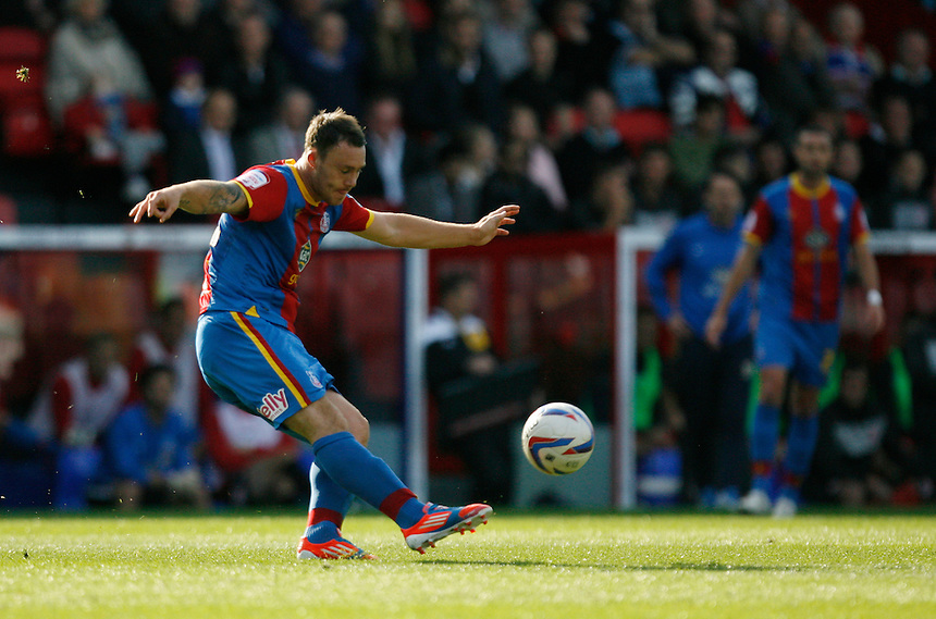 Crystal Palace's Darcy Blake in action..Football - npower Football League Championship - Saturday 22nd September 2012 - Crystal Palace v Cardiff City - Selhurst Park - London..?