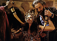 Blood from the Mummy's Tomb (1971) <br /> Andrew Keir and Valerie Leon <br /> *Filmstill - Editorial Use Only*<br /> CAP/KFS<br /> Image supplied by Capital Pictures