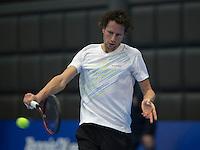 meRotterdam, Netherlands, December 13, 2016, Topsportcentrum, Lotto NK Tennis,  Jasper Smit (NED) <br /> Photo: Tennisimages/Henk Koster