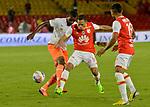 Independiente Santa Fe venció como local 2-0 a Envigado. Fecha 3 Liga Águila II-2017.