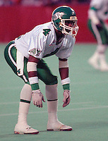 Albert Brown Saskatchewan Roughriders-1992. Photo F. Scott Grant